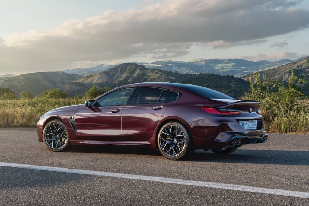 BMW M8 powerful car released in 2020