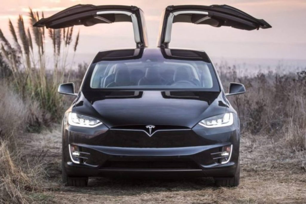 Tesla Model Y - first SUV released in 2020